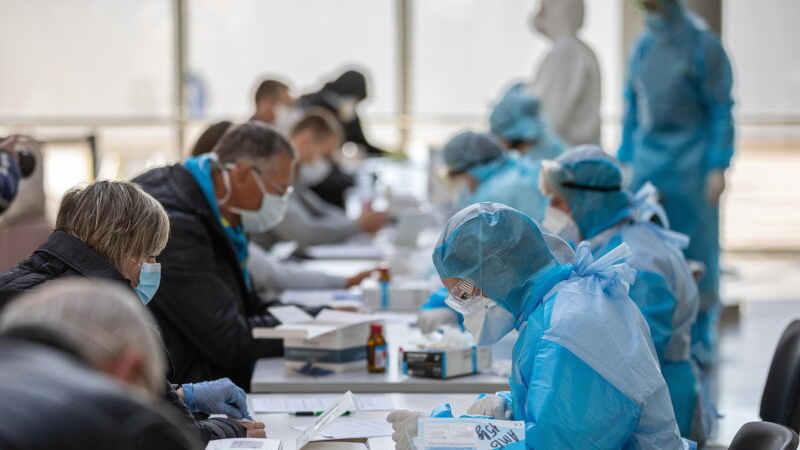 Експрес-тестування в аеропорту Київ-Бориспіль
